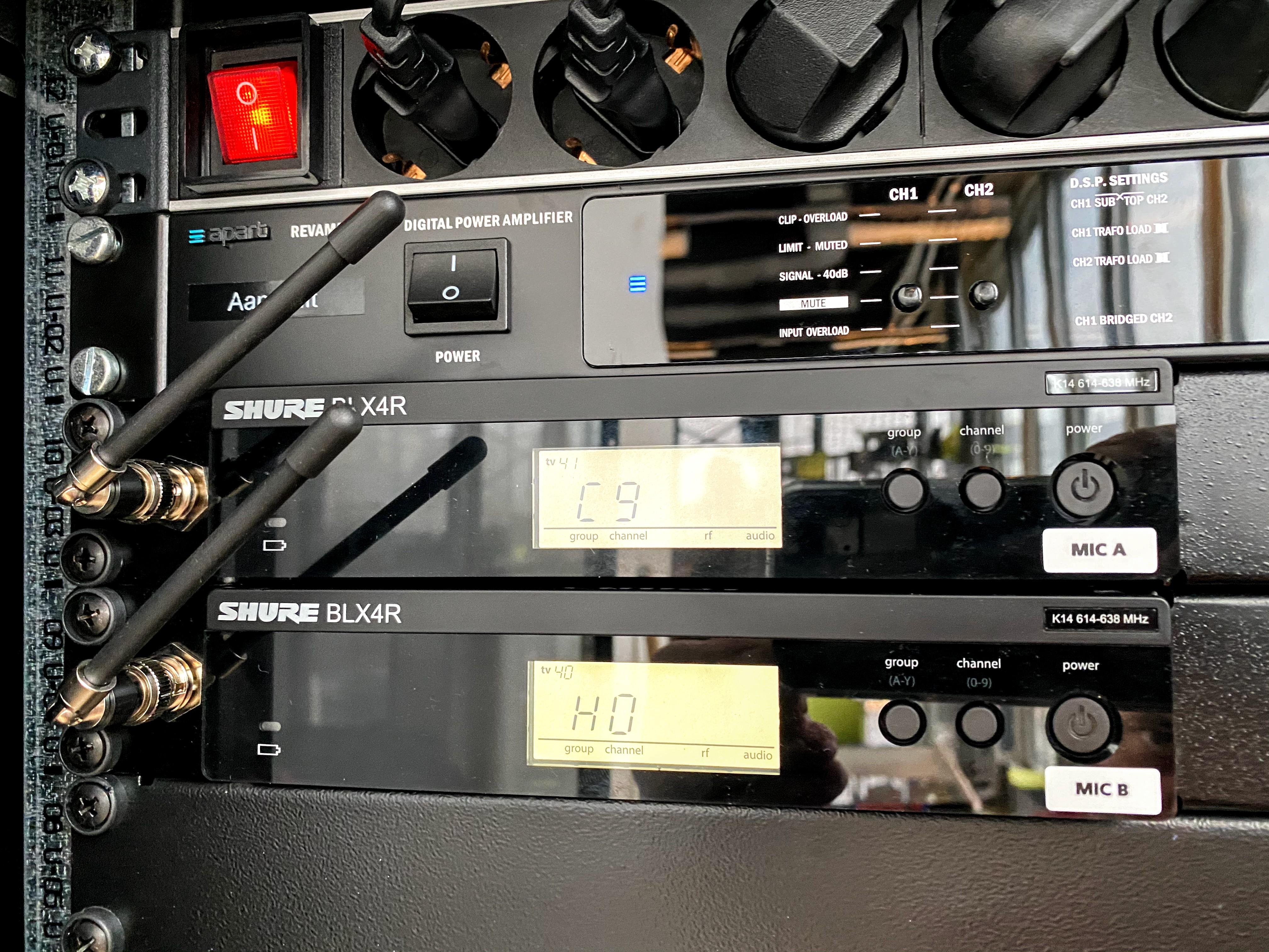 Apart audiosysteem voor het onderwijs