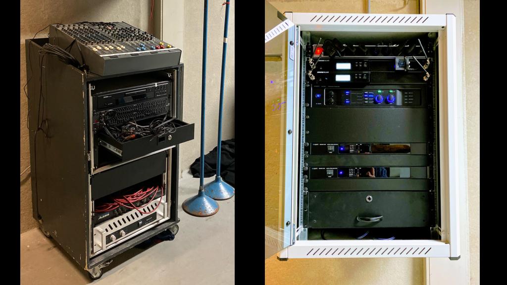 Audio installatie van oud naar nieuw