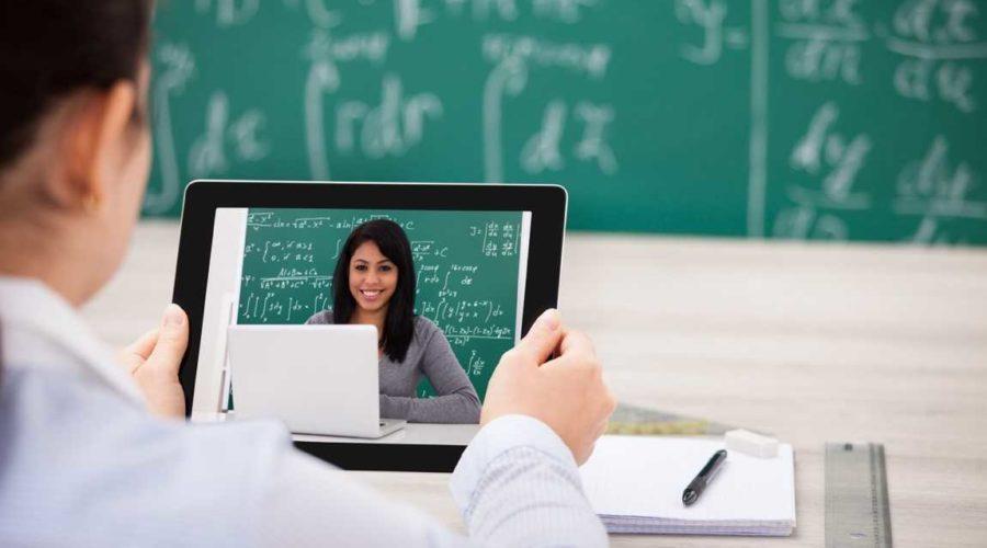 thuis lessgeven aan leerlingen