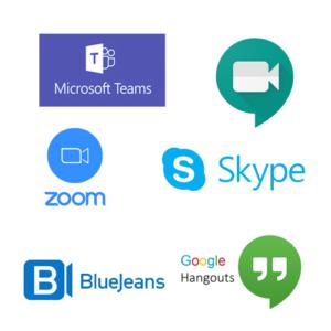 Logo videoconferencing